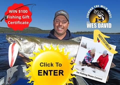 Ice Fishing Contest in Merritt, BC, Canada